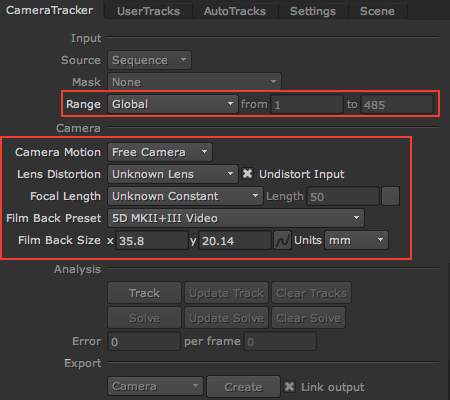 Camera Tracker in Nuke – ADM VFX Wiki